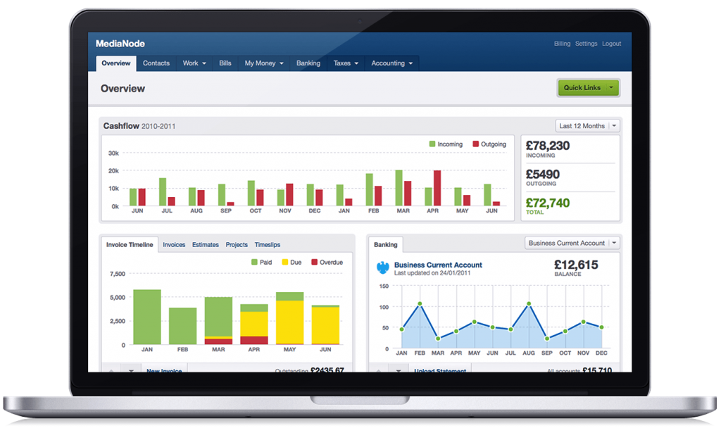 freeagent accounting software