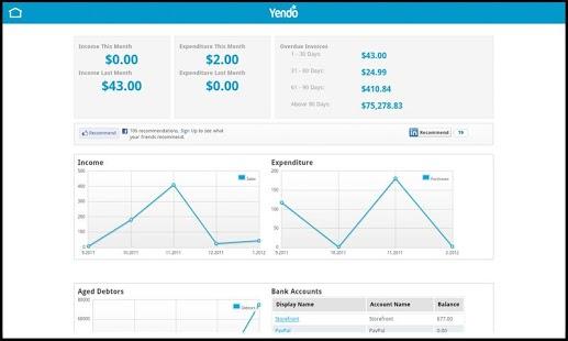 yendo accounting software
