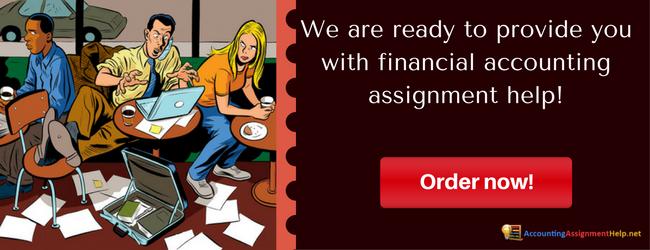 Need help in accounting homework