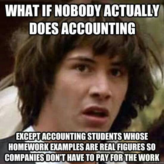 accounting meme