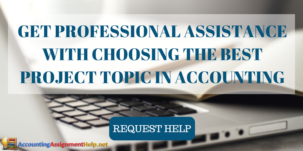 help with project topics in accounting pdf