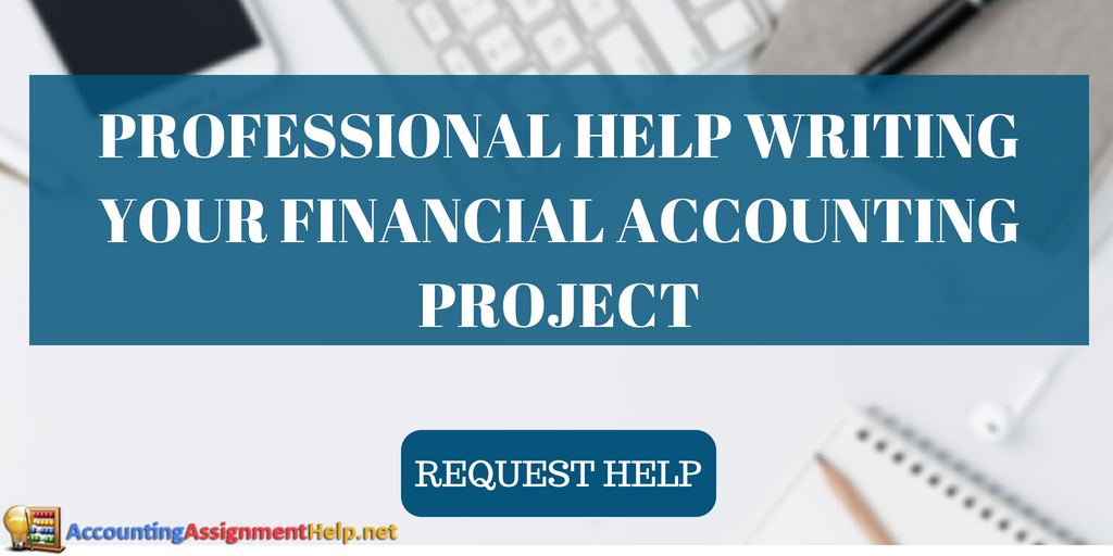 professional financial accounting excel project